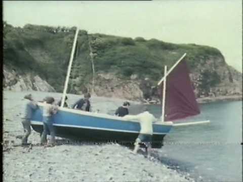 Cornish Lugger Arabella. David Newton