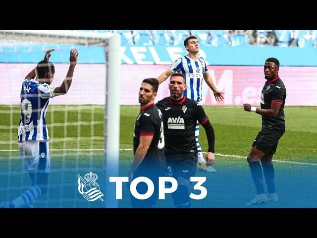 TOP 3 Goles en LaLiga Santander de la Real Sociedad