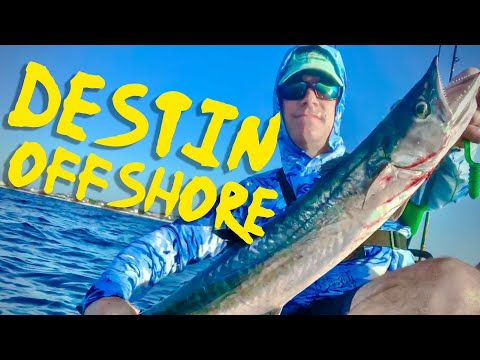 Offshore Kayak Fishing In Destin Florida - Multiple Species Caught