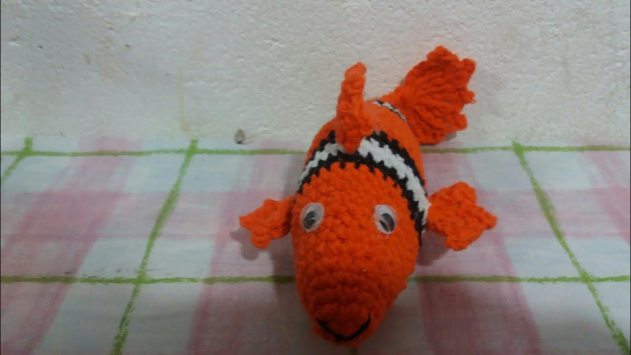 Dory Buscando A Nemo Amigurumi Tejido A Mano Crochet - $ 780,00 en ... | 720x1280