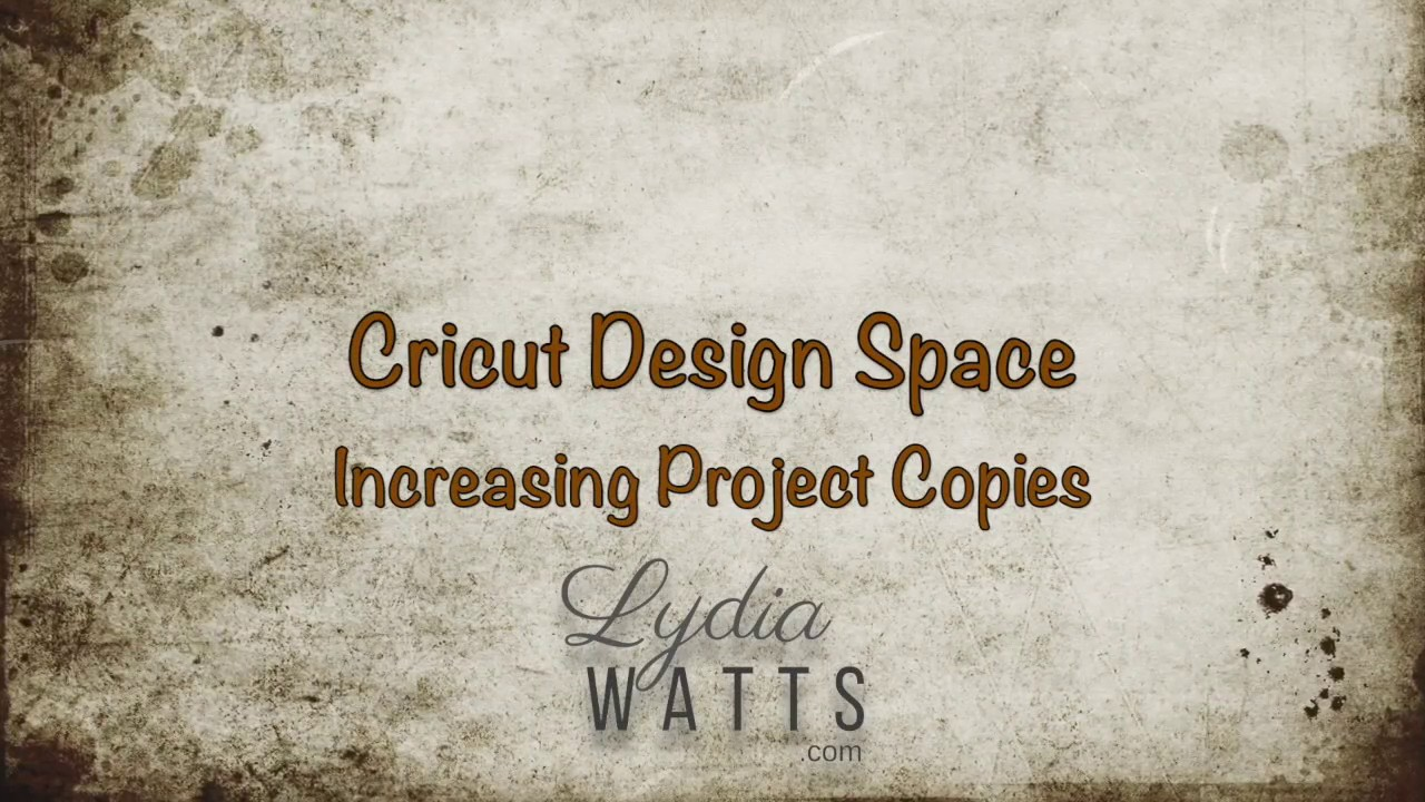 Increasing Project Copies in the Prepare Screen in Cricut Design