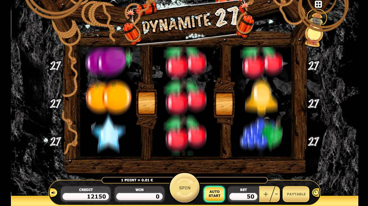 Jan 26, · The Online Dynamite 27 slot game features the bonus game which gets activated when the left and right reel have the same symbol.This slot is a classic game offered by Kajot Casinos and is based on a unique theme like other games offered by it such as Aztecs Empire and Stone Age.Söğütlü