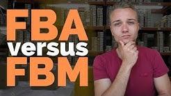 FBA vs FBM - Versand selbst machen oder von Amazon übernehmen lassen?  (Vor- und Nachteile)