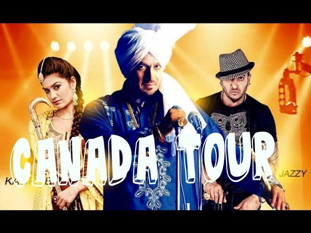 Sardarni ji | Jazzy B & Kaur B | Canada Live