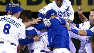Royals advance to ALDS on Perez's walk-off hit
