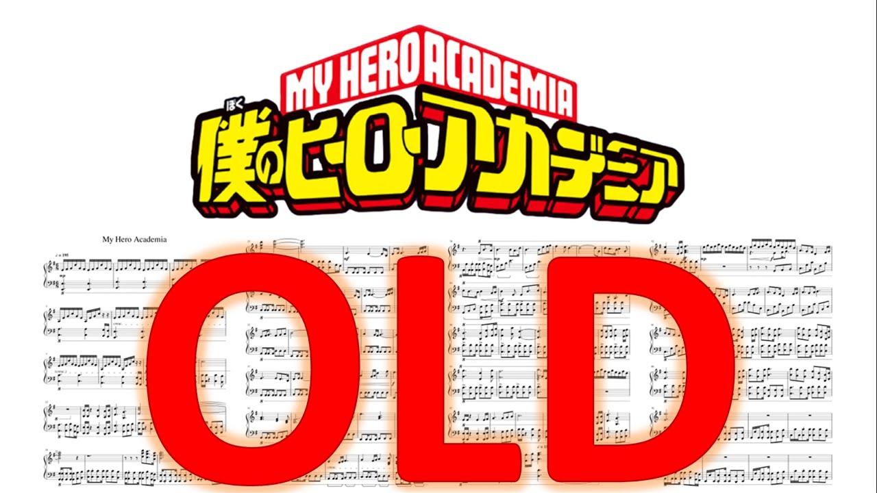 [OLD] Boku no Hero Academia:- My Hero Academia (Piano ...