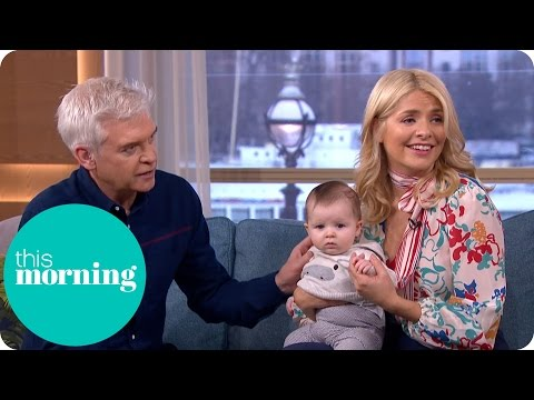 Holly Meets Katherine Kelly's Daughter Rose!  This Morning