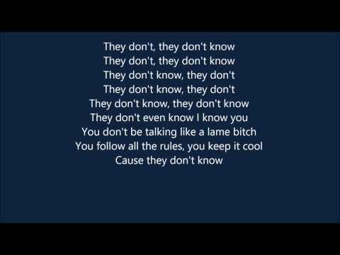 Rico Love - They don't know lyrics