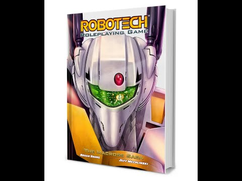 Robotech RPG game: The Macross Saga by SMG games review