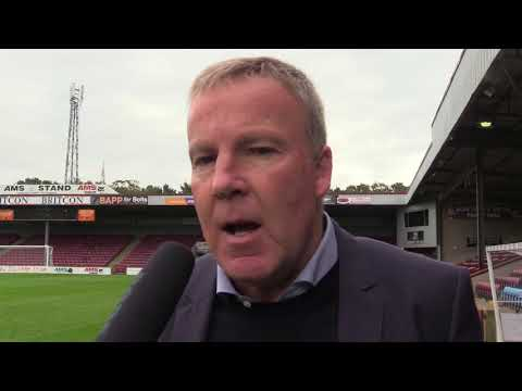 Kenny Jackett post-Scunthorpe United