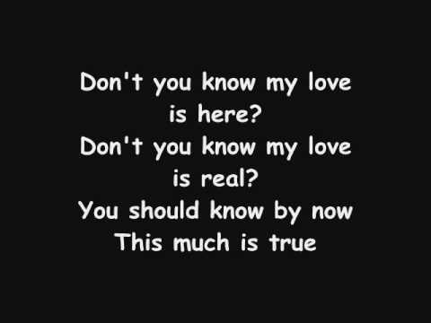 My love is true lyrics