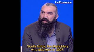 """Coupe du Monde de Rugby - Chabal : """"Les Sud-africains vont avoir un peu de pression au Vélodrome"""""""