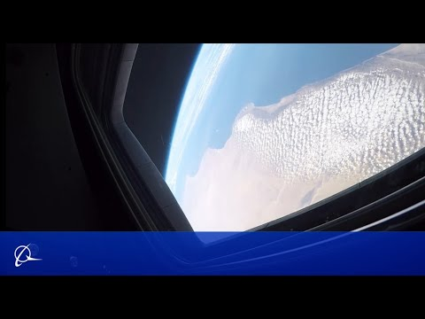 Starliner Orbital Flight Test Cabin Camera Views
