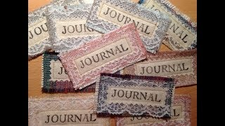 Journal Book Plates for your Junk Journals and Books - DIY tutorial