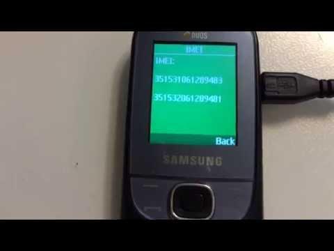 SAMSUNG E2202 DUOS / IMEI REPAIR / SIGNAL REPAIR / CODES READING USING FURIOUSGOLD