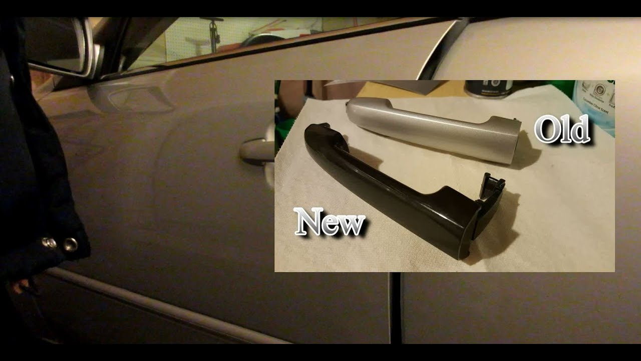 How To Replace A Hyundai Sonata Azera Door Handle 2006 2010 Youtube