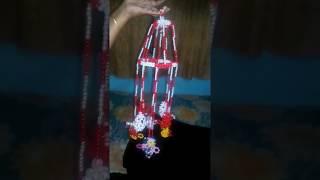 Handmade Multi Color Putir Doorbell / Jharbati