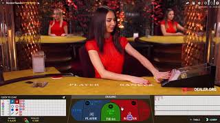 Betting big on live baccarat