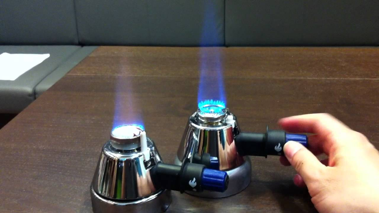 The First Mini Gas Burners Tailor Made For Coffee Brewing