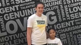 Aaliyah Zachery 3rd Grade, 8 Years Old - Breanna Stewart Camp!