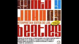 Santo Y Johnny- Interpretan Exitos De Los Beatles