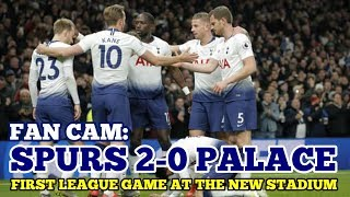 FAN CAM: Tottenham 2-0 Crystal Palace: Opening League Game at the New Stadium: Son 손흥민: 03/04/19