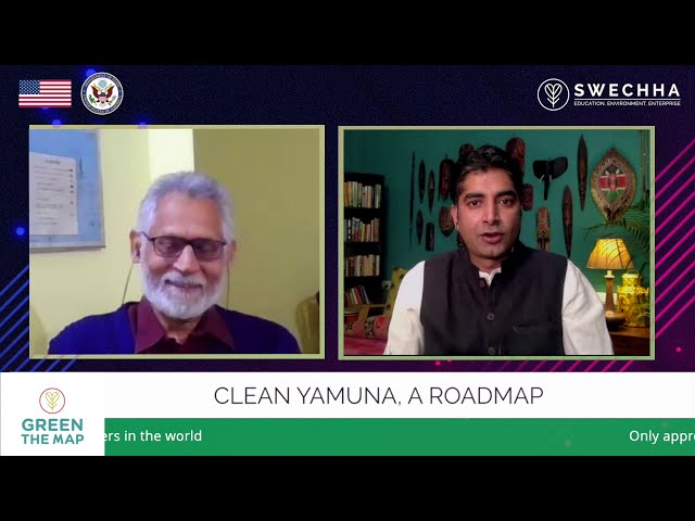 Green The Map Podcast Series #1 - 'Clean Yamuna - A road map' - In conversation with Manoj Mishra