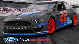 Vaughn Gittin Jr and Joey Logano Drift the NASCAR Mustang | Ford Performance