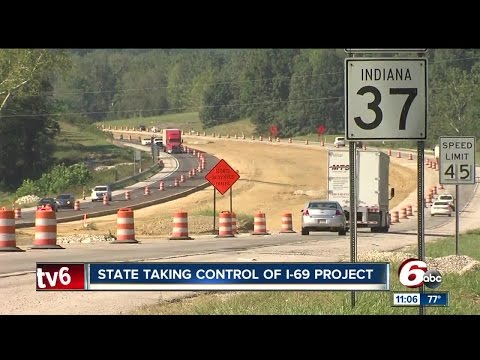 State takes over I-69 project amid constant delays