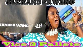 HAUL:  PART 2 - ALEXANDER WANG X H&M, VICE3 PALETTE & MORE! Thumbnail