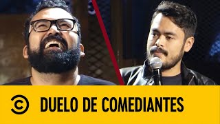 Download Hugo 'El Cojo' VS Álex Salazar 'El Chaparro' | Duelo De Comediantes | Comedy Central LA Mp3 and Videos