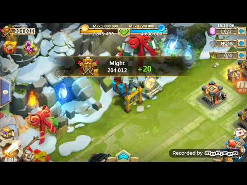 Double Evolving NEW HERO Plant Warrior!!!!! (Castle Clash)