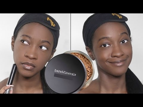 Foundation Hunt Week Day 5: bareMinerals Matte Foundation Broad Spectrum SPF 15 (Warm Deep)