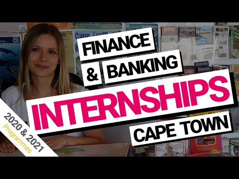 Finance and Banking internships in Cape Town, South Africa 2