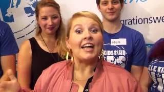 """Maite Kelly besucht Projekt TheaterPuls in Oberhausen für """"Alle Kids sind VIPs"""""""
