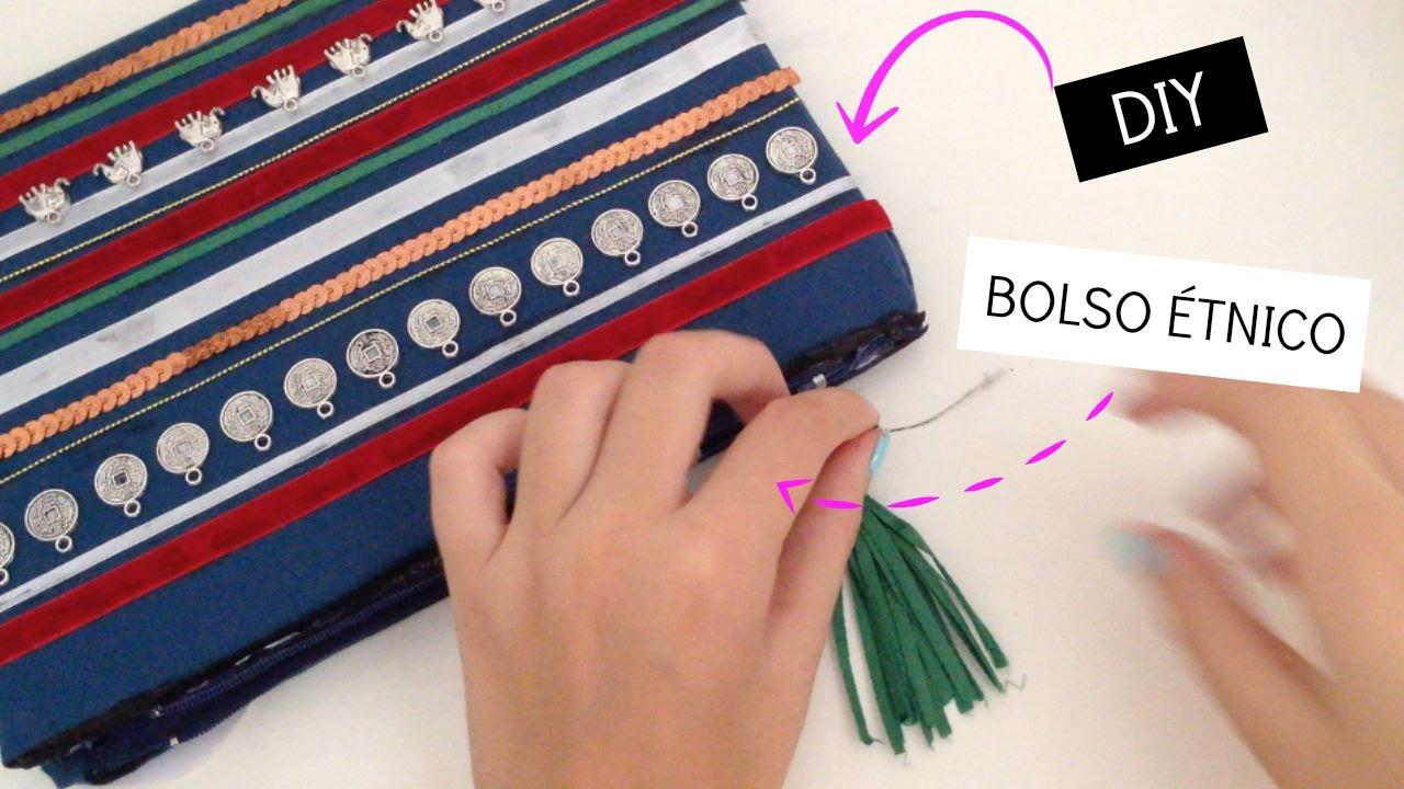 2e0a04c86 DIY: Bolso étnico - YouTube