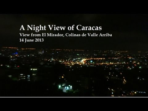 A Night View of Caracas