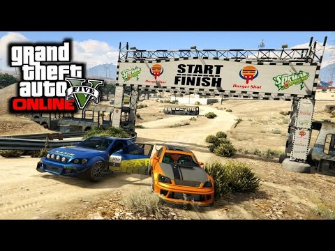 GTA 5 PS4 - NEW Sultan RS Supercar Rally Racing + Car Show!