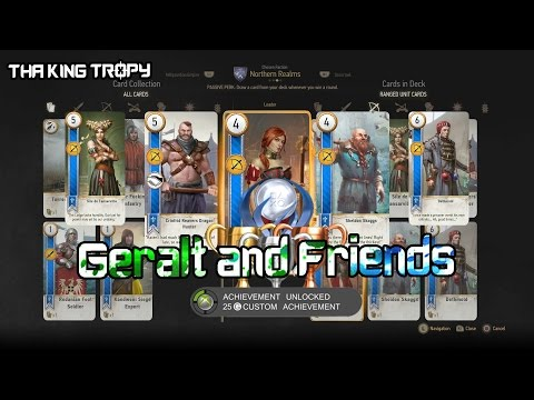 The Witcher 3: Wild Hunt | Geralt and Friends Trophy / Achievement Guide