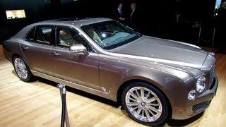 Bentley Mulsanne Executive Interior 2013 Videos