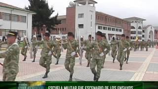 Vamos Colombia - Ensayo para el desfile militar del 20 de Julio de 2014