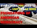 Unit 1 Review Foundations of American Democracy AP Government 2019