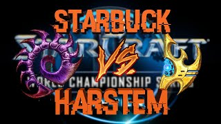 Harstem (P) Vs Starbuck (Z) Game 2 WCS WINTER [ES] - Grupo C Europa