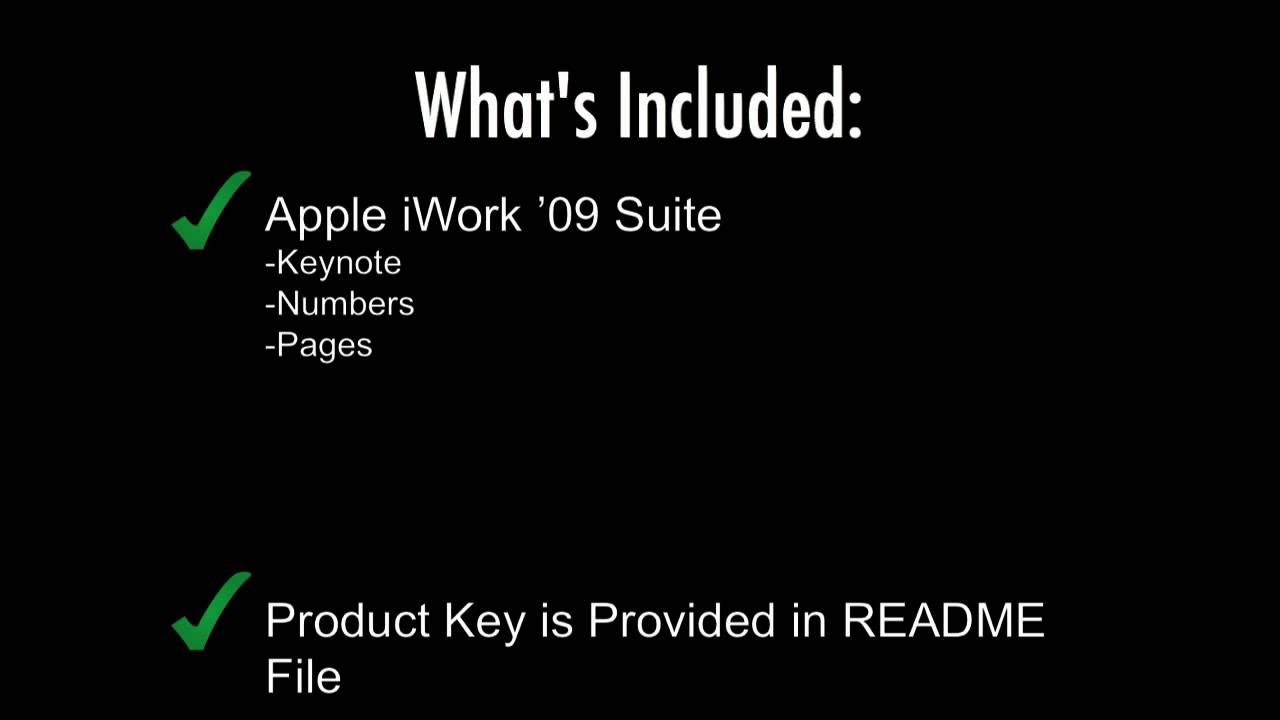 Download apple iwork 09