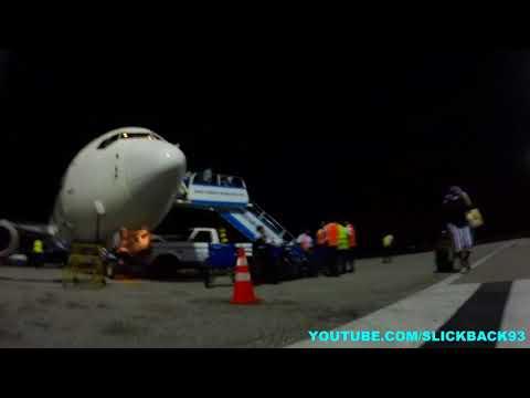 Guyana Airport Landing AUGUST 2017 (CONSTRUCTION)
