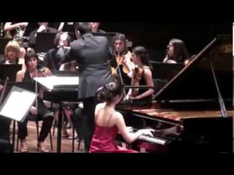 Anna Petrova - F. Chopin - Piano Concerto in e mninor