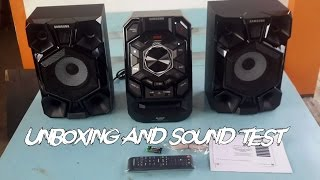 Unboxing and Sound Test - SAMSUNG MX-J630 CD Mini Audio System