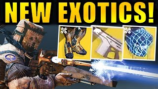 NEW EXOTICS! - Nightmare Hunt Activity! - Crazy New Mods! | Shadowkeep DLC
