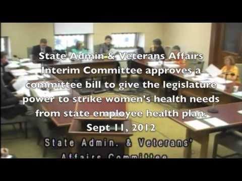 Montana Legislature's War on Women State Employees