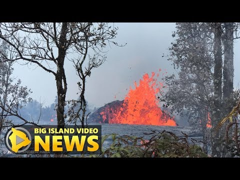 Hawaii Volcano Eruption Update - Thursday Night (May 17, 2018)